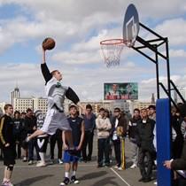 Фотоотчет с окружных соревнований по стритболу