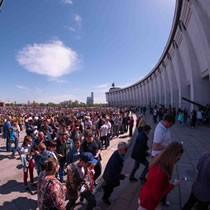 9 мая Музей Победы посетили более 130 тысяч человек