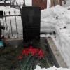 Возложение цветов к могиле А.Я. Очкина