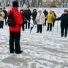 Скандинавская ходьба в Марьиной роще