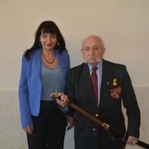 Поздравление ветерана Великой Отечественной войны З.И. Филлера