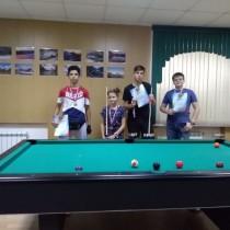 Районный турнир по бильярду