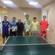 12 октября прошли соревнования по настольному теннису