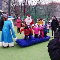 28 декабря прошло спортивное праздничное мероприятие посвященное встрече Нового 2020 года