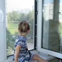 Открытое окно – опасность для ребенка!